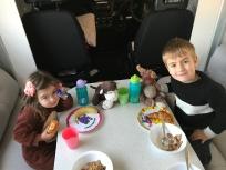 Best breakfast ever - Smarties!!!