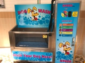 This was located in the laundry room at one of our recent campsites. Would have loved to have seen it in action!
