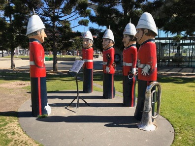 Beachside Bollards in Geelong