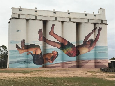 Silo Art by Martin Ron, April 2018