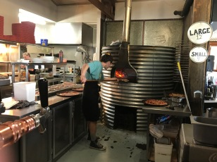 Wood fired pizza - yum