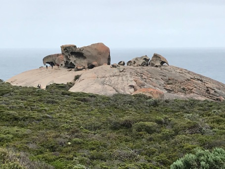 The Remarkable Rocks, KI