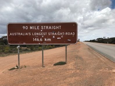 Longest Straight Road in Oz