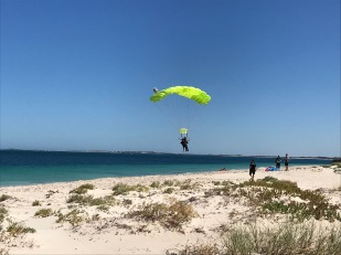 Skydiving at Jurien Bay