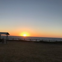 Burns Beach at Sunset