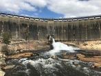 Wellington Dam from the bottom