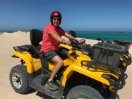 Mike on his Quad Bike!