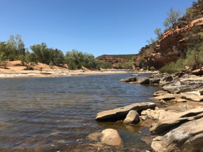 Murchison River at Ross Graham Lookout