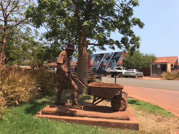 Sculpture in Port Hedland