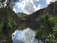 Deserted Edith Falls