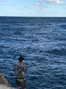 Fisherman at Yamba