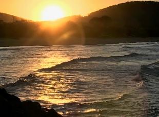 Sunset at Crescent Head