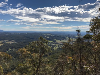 View from Watagan NP