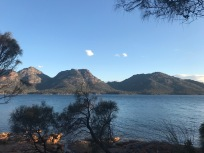 Early Evening Looking Over to Freycinet National Park