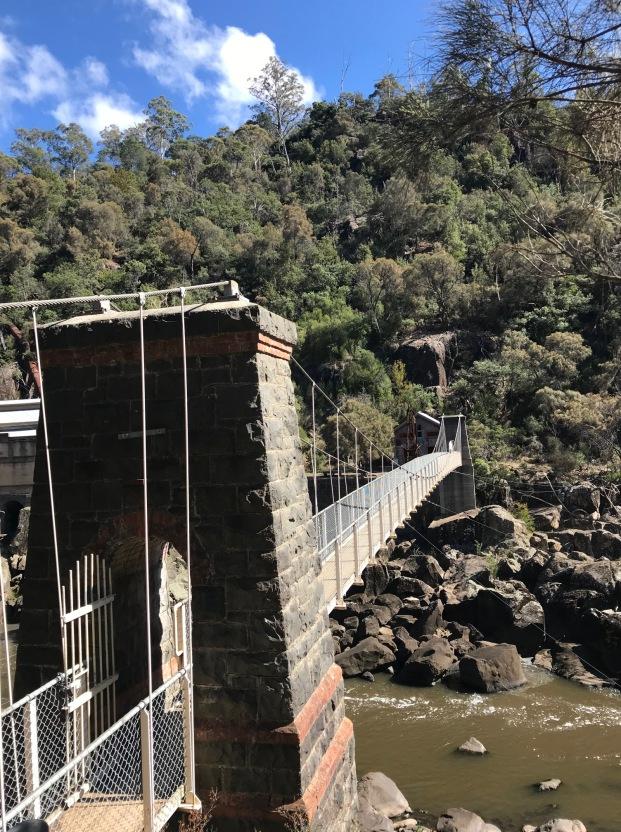 Suspension Bridge at Duck Reach